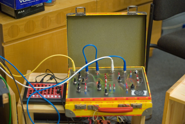 MAD-Case with MFB-522 Drumcomputer